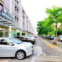 Отель Jinjiang Inn (Huangpu Avenue Bridge) парковка