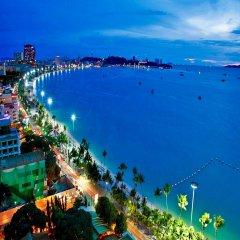 Arya Inn Pattaya Beach Hotel пляж