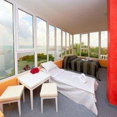 Отель Paros Болгария, Поморие - отзывы, цены и фото номеров - забронировать отель Paros онлайн балкон