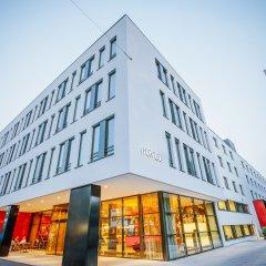 Отель Holiday Inn Munich - Westpark Мюнхен вид на фасад