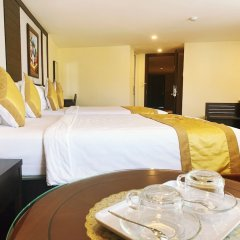 Hoang Minh Chau Ba Trieu Hotel Далат в номере