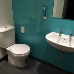 Отель YHA London St Pancras ванная