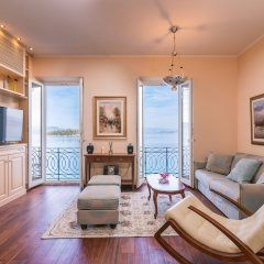 Отель Luxury Seaview Suite Греция, Корфу - отзывы, цены и фото номеров - забронировать отель Luxury Seaview Suite онлайн комната для гостей фото 4