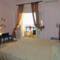 Апартаменты Galini on Sea Apartments комната для гостей