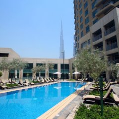 Отель Kennedy Towers - Burj Views Дубай бассейн фото 3
