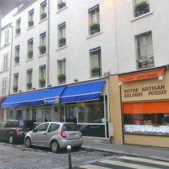 Отель le 55 Montparnasse Hôtel Париж парковка
