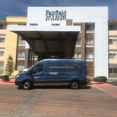 Отель Fairfield Inn & Suites by Marriott Albuquerque Airport городской автобус
