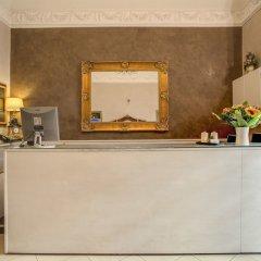 Отель Caravaggio Италия, Рим - 9 отзывов об отеле, цены и фото номеров - забронировать отель Caravaggio онлайн интерьер отеля фото 2