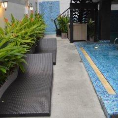 Отель Aya Boutique Hotel Pattaya Таиланд, Паттайя - 1 отзыв об отеле, цены и фото номеров - забронировать отель Aya Boutique Hotel Pattaya онлайн бассейн