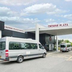 Отель Crowne Plaza Manchester Airport Манчестер городской автобус