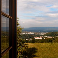 Отель Vitkova Hora Чехия, Карловы Вары - 1 отзыв об отеле, цены и фото номеров - забронировать отель Vitkova Hora онлайн балкон