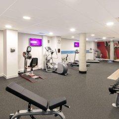 Отель Hampton by Hilton London Stansted Airport фитнесс-зал