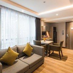 Отель Citrus Suites Sukhumvit 6 By Compass Hospitality Бангкок комната для гостей фото 3