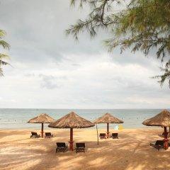 Hotel Amon пляж