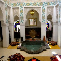 Отель Riad & Spa Ksar Saad Марокко, Марракеш - отзывы, цены и фото номеров - забронировать отель Riad & Spa Ksar Saad онлайн бассейн фото 3