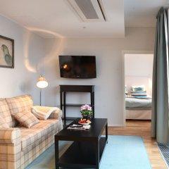Апартаменты Biz Apartment Gardet Стокгольм комната для гостей