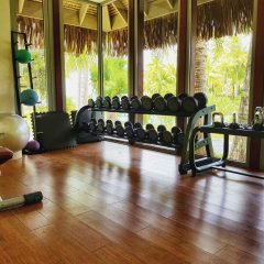 Отель The St Regis Bora Bora Resort Французская Полинезия, Бора-Бора - отзывы, цены и фото номеров - забронировать отель The St Regis Bora Bora Resort онлайн фитнесс-зал