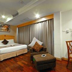 Отель Admiral Suites Sukhumvit 22 By Compass Hospitality Бангкок комната для гостей фото 3