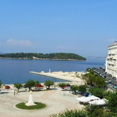 Отель Konstantinoupolis Hotel Греция, Корфу - отзывы, цены и фото номеров - забронировать отель Konstantinoupolis Hotel онлайн пляж
