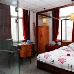 Отель Beijing Hutong Culture Inn комната для гостей фото 4