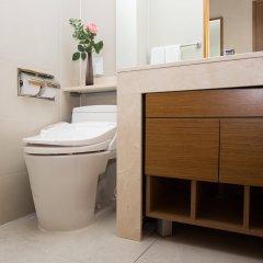 Отель Loisir Hotel Seoul Myeongdong Южная Корея, Сеул - 3 отзыва об отеле, цены и фото номеров - забронировать отель Loisir Hotel Seoul Myeongdong онлайн ванная
