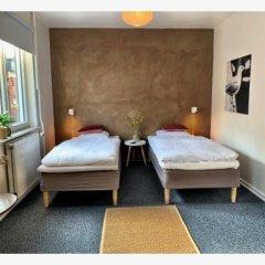 Hotel Gammel Havn Фредерисия сейф в номере