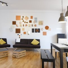Five Elements Hostel Leipzig комната для гостей фото 2