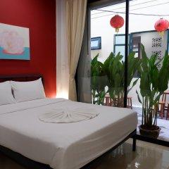 Peace Factory Hostel Бангкок комната для гостей