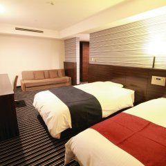 APA HOTEL Fukuoka Watanabedori Ekimae EXCELLENT комната для гостей фото 5