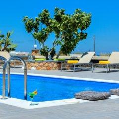 Отель Monolithia Греция, Остров Санторини - отзывы, цены и фото номеров - забронировать отель Monolithia онлайн бассейн фото 2