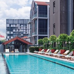 Отель M Social Singapore с домашними животными