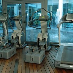 Отель Eurostars Suites Mirasierra фитнесс-зал