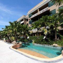 Отель Maikhao Palm Beach Resort бассейн фото 3