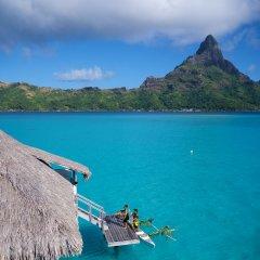 Отель InterContinental Bora Bora Resort and Thalasso Spa пляж фото 2