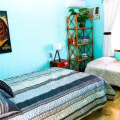 Отель Hostel Cancun Natura Мексика, Канкун - отзывы, цены и фото номеров - забронировать отель Hostel Cancun Natura онлайн комната для гостей фото 5