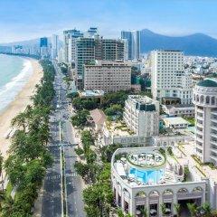 Отель Sunrise Nha Trang Beach Hotel & Spa Вьетнам, Нячанг - 5 отзывов об отеле, цены и фото номеров - забронировать отель Sunrise Nha Trang Beach Hotel & Spa онлайн пляж