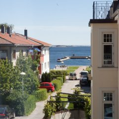 Отель Sjøgløtt Hotel Норвегия, Кристиансанд - отзывы, цены и фото номеров - забронировать отель Sjøgløtt Hotel онлайн балкон
