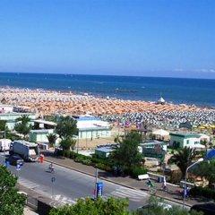 Отель Spiaggia Marconi Римини пляж фото 2