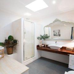 Отель Hostal Restaurant Sa Malica Бланес ванная фото 2