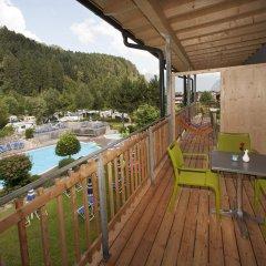 Отель Hells Ferienresort Zillertal Австрия, Фюген - отзывы, цены и фото номеров - забронировать отель Hells Ferienresort Zillertal онлайн балкон