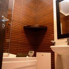 Отель Dajti Tower - Hotel Belvedere Албания, Тирана - отзывы, цены и фото номеров - забронировать отель Dajti Tower - Hotel Belvedere онлайн ванная фото 2