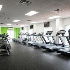 Отель Doubletree By Hilton Gatineau-Ottawa Гатино фитнесс-зал фото 3
