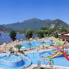 Отель Camping Villaggio Isolino Италия, Вербания - отзывы, цены и фото номеров - забронировать отель Camping Villaggio Isolino онлайн бассейн