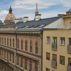 Отель Danubius Hotel Erzsébet City Center Венгрия, Будапешт - 6 отзывов об отеле, цены и фото номеров - забронировать отель Danubius Hotel Erzsébet City Center онлайн балкон