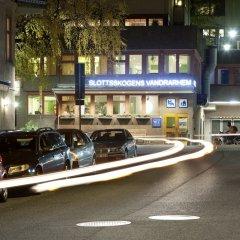Отель Slottsskogens Vandrarhem & Hotell парковка