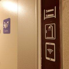 Отель K-guesthouse Sinchon 2 сейф в номере