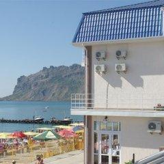 Santorini Hotel пляж