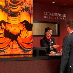 Steigenberger Hotel de Saxe интерьер отеля