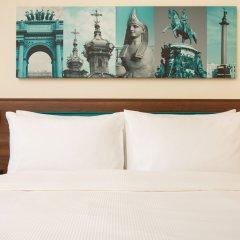 Отель Хэмптон бай Хилтон Санкт-Петербург Экспофорум комната для гостей фото 5