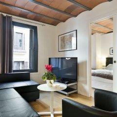 Отель Aspasios Las Ramblas Apartments Испания, Барселона - отзывы, цены и фото номеров - забронировать отель Aspasios Las Ramblas Apartments онлайн комната для гостей фото 2